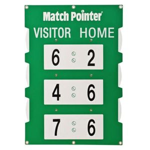 tennis court scoreboard