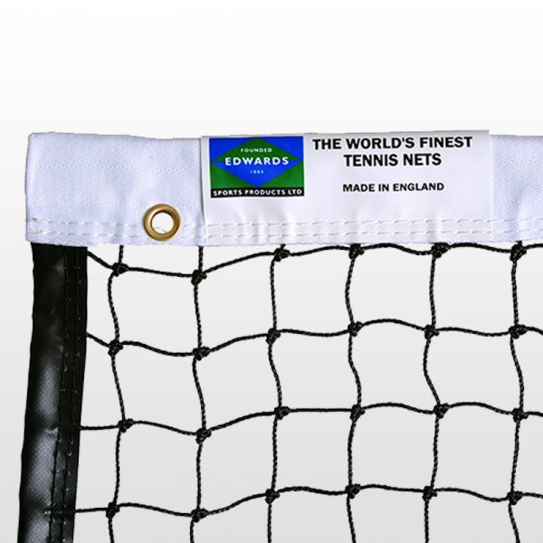 Match Play single top tennis net