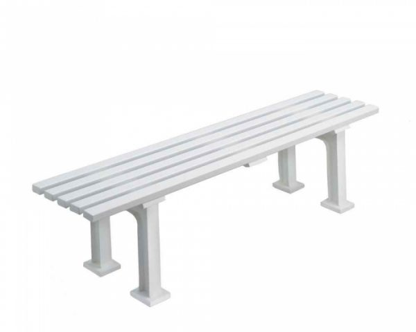 backless tennis bench