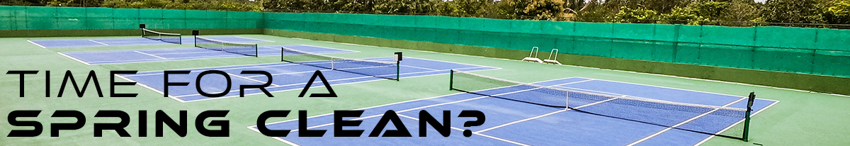 Tennis Court Maintenance and Care