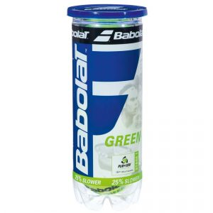 babolat green junior balls